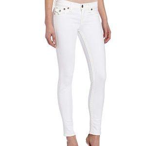 True Religion white Serena skinny jeans - 27